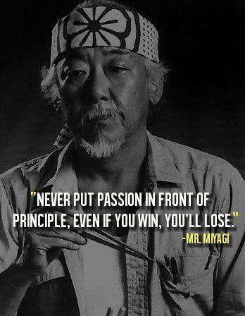 Mr  MiyagiMr Miyagi Quotes