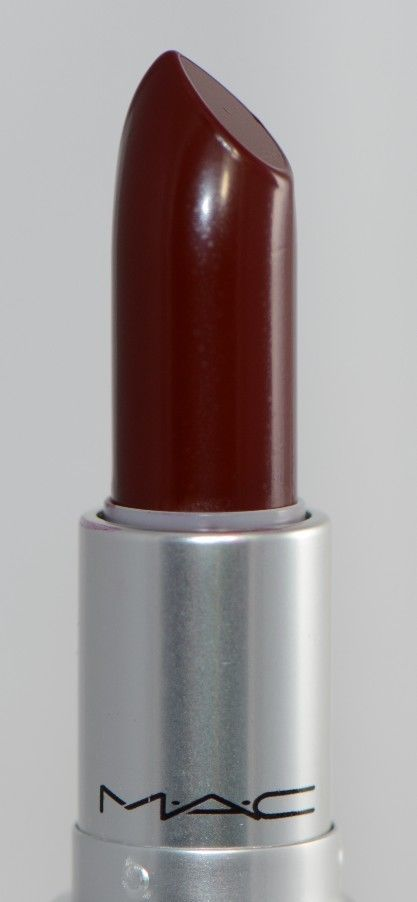 MAC SIN Matte Deep Dark Blue-Red Lipstick New in Box