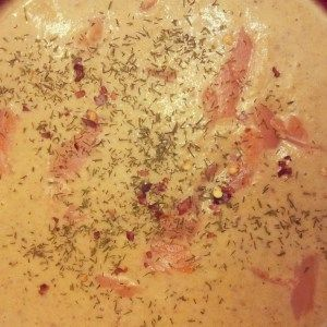 Smooth and creamy smoked salmon bisque | Soups and Chowders,etc ...