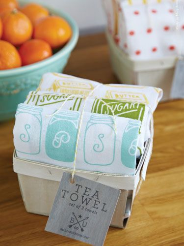 Tea Towel Gift Ideas