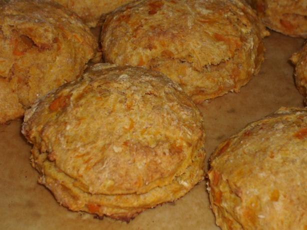 Theae were a major hit!! Sweet Potato Scones. Photo by Lalaloula