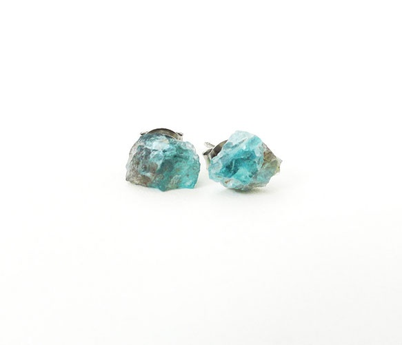 Crystal Aquamarine Earrings