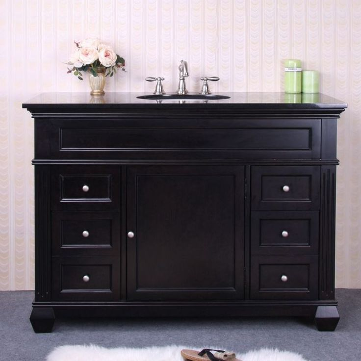 48quot; Single Bathroom Vanity Set with 4 Drawer
