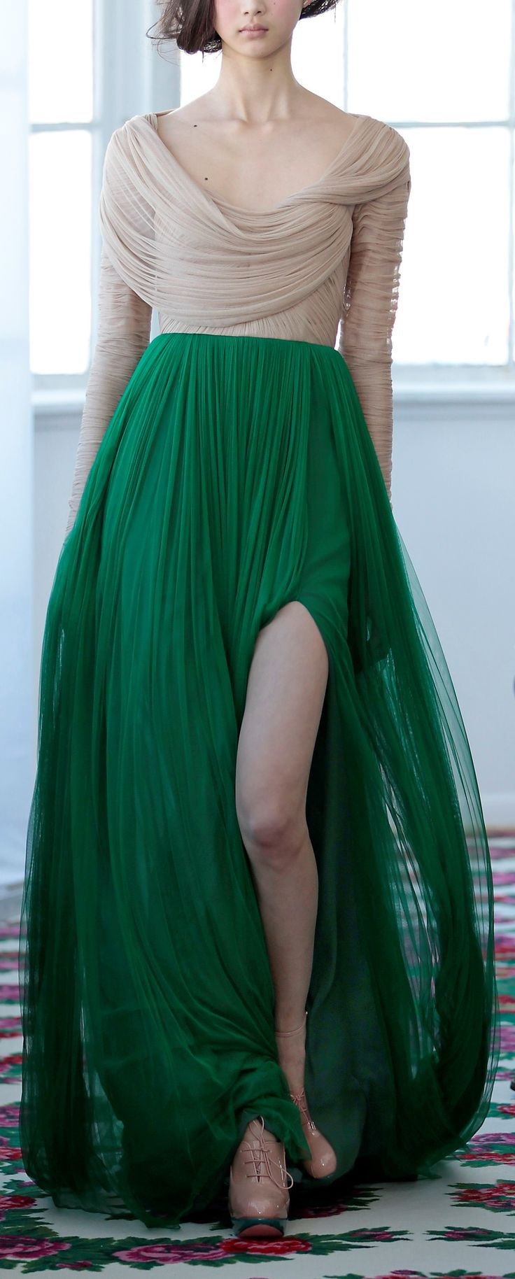 Delpozo NYFW 2013 Wow, my mouth dropped