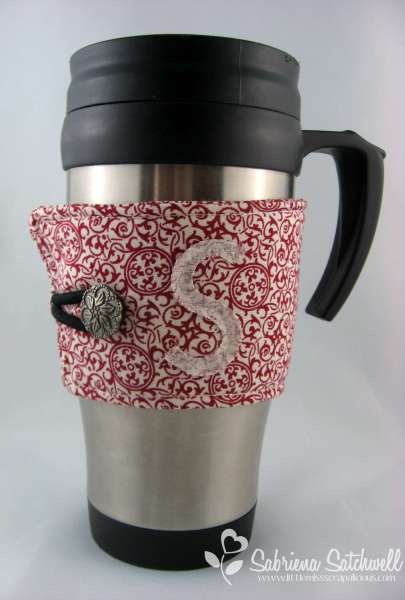 Personalized Deck the Halls Coffee Cozy | Gift Ideas | Pinterest: pinterest.com/pin/138837600983998569