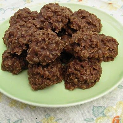 Summerstead: Chocolate Oatmeal No-Bake Cookies *****for dad