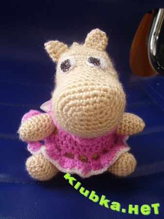 Amigurumi Hippopotamus : Hippo Amigurumi CROCHET AMIGURUMI ANIMALS Pinterest