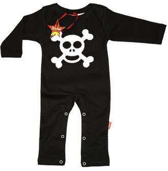 New Born Baby Clothes   Jolly Roger PLAYSUITJolly Roger Kids