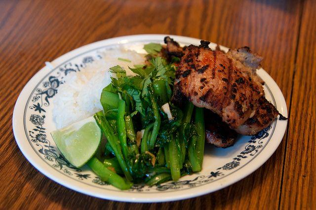 Thit Heo Nuong Xa (Viet Grilled Lemongrass Pork)