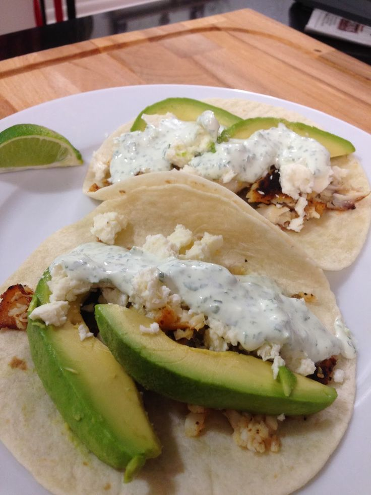 Well fed principles blackened tilapia fish tacos chef for Tilapia fish tacos