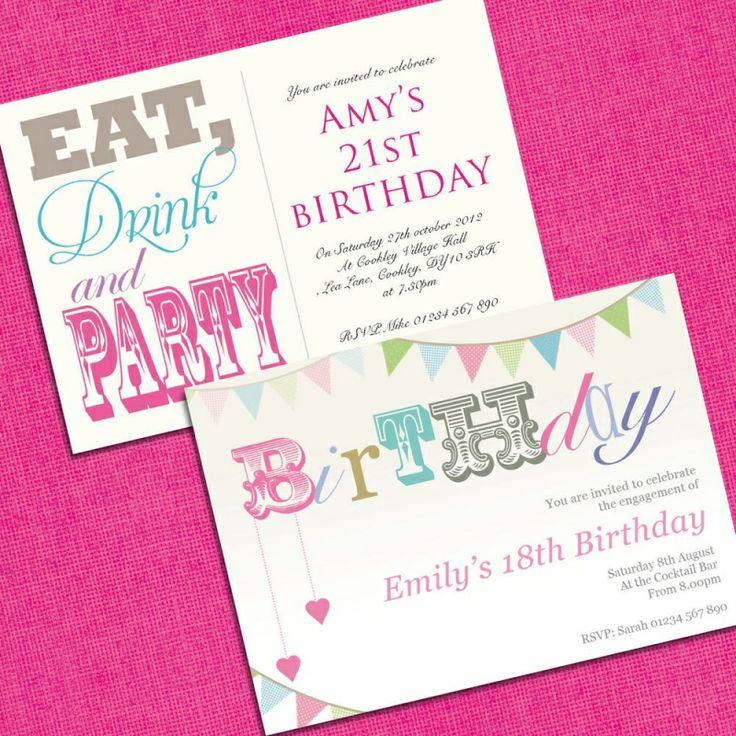30th Birthday Party Invitations Uk