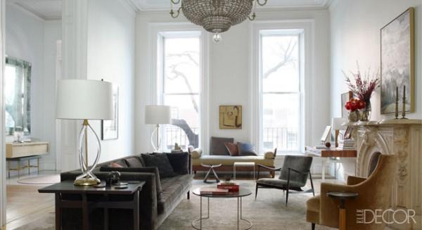 Elle Decor Living Rooms Pinterest