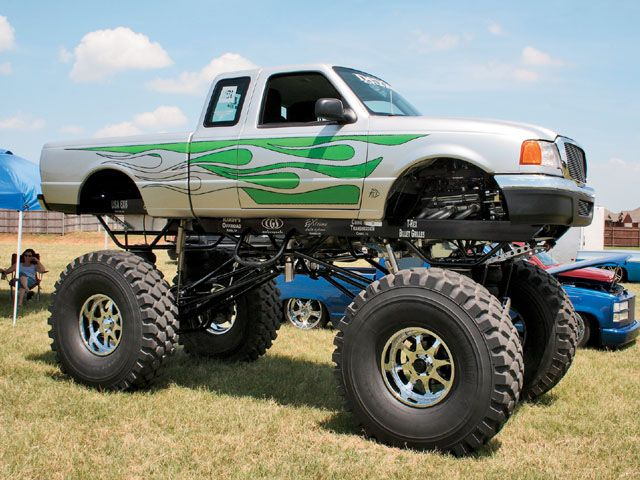 Ford monster pickup truck