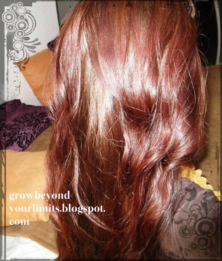 Hazelnut Highlights Brown Hair Hazelnut brown hair and henna
