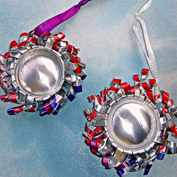 Pin by cyndi cornwell on soda cans pinterest for Aluminum can decorations