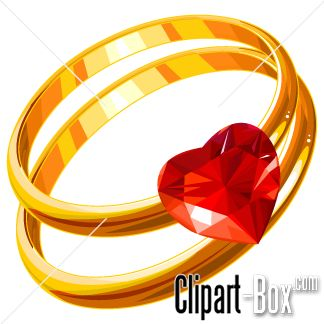 CLIPART WEDDING RINGS | CLIPARTS | Pinterest