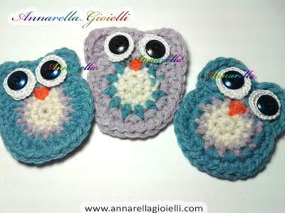 Crochet Tutorial Owl : Crochet owl tutorial Crafts Pinterest