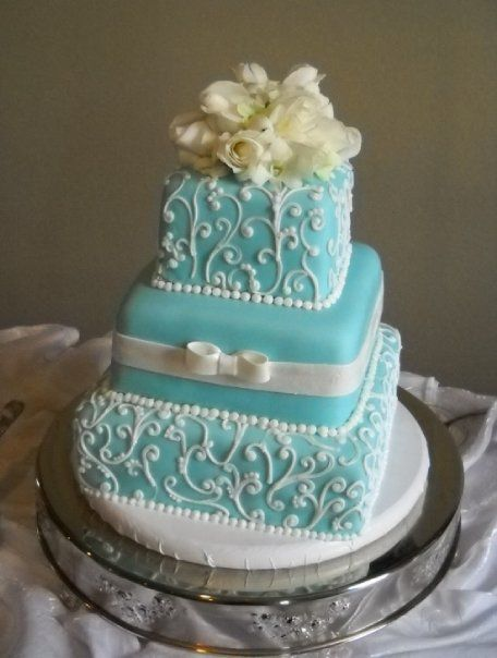 Tiffany Blue Cake Design : tiffany blue! Cake Designs Pinterest