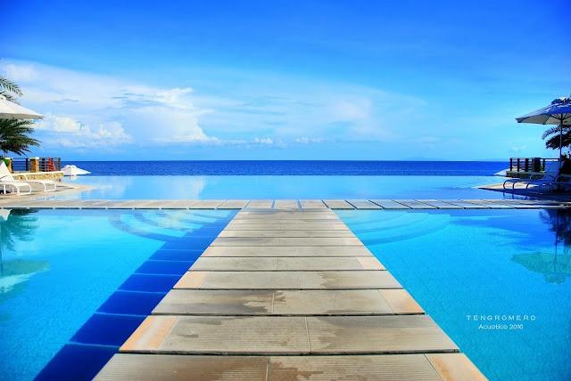 Infinity Pool At Laiya Batangas Places Pinterest