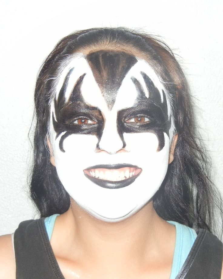 Kiss Makeup Designs: Pin By Elegant Minerals On Natural Halloween Face Paint