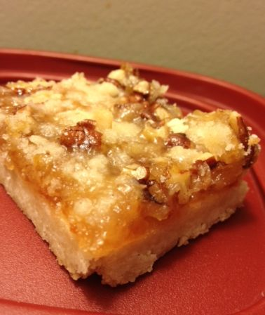Apricot Pecan Bars | sweets | Pinterest