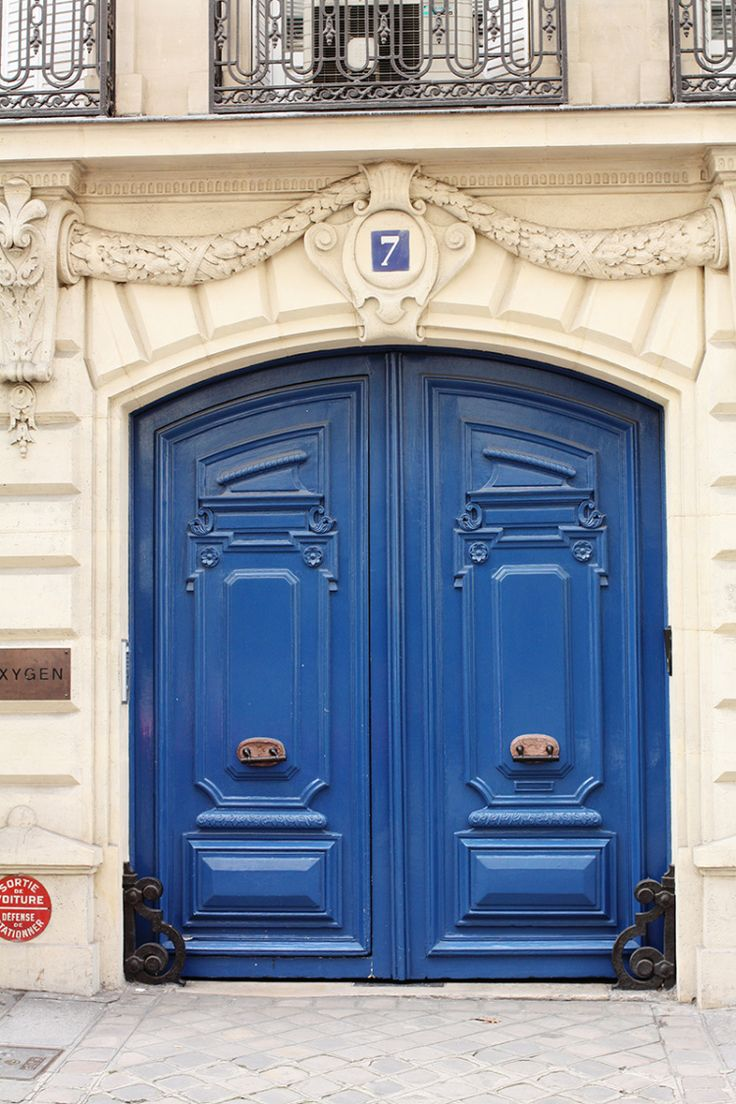 Paris -  Blue Doors