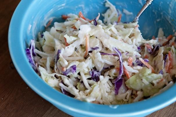 Easy Coleslaw Dressing: Next time I'll half the amount of black pepper ...