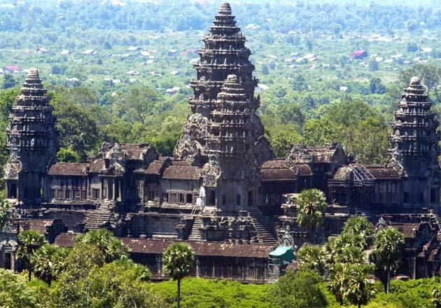 Angkor wat ruins for Architecture khmer