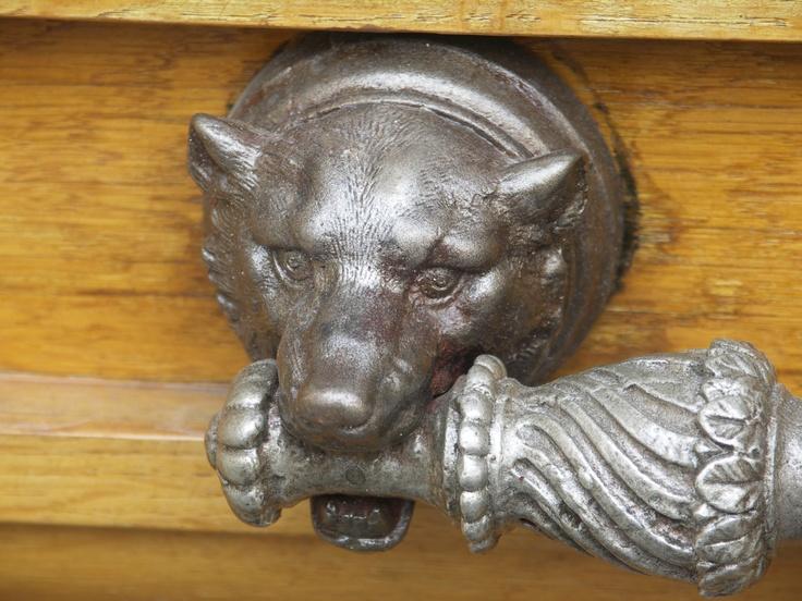 Wolf Door Handle