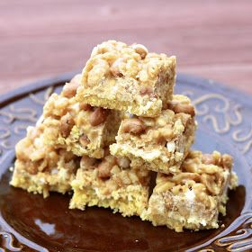 The Sweets Life: Payday Cookie Bars | cHRISTMAS GOODIES | Pinterest