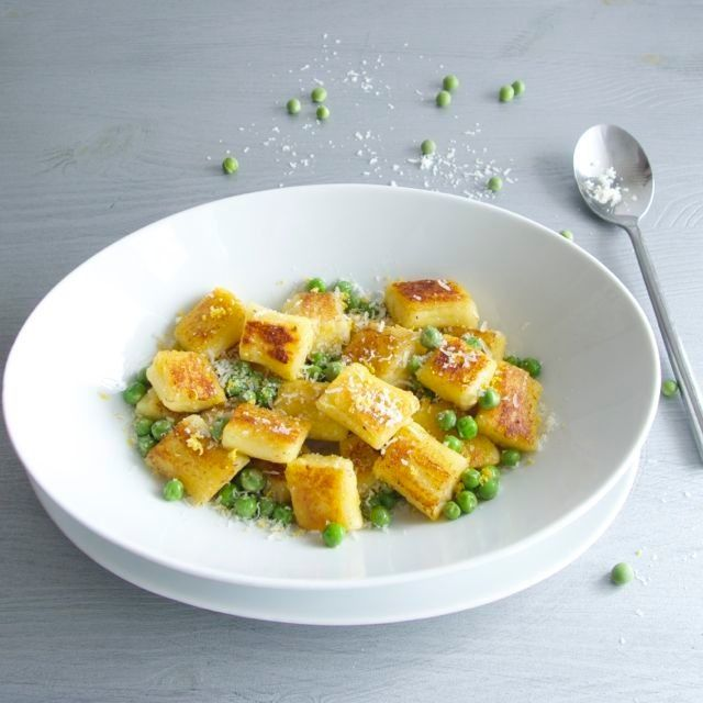Baked gnocchi with peas and lemon | Food & Drink | Pinterest