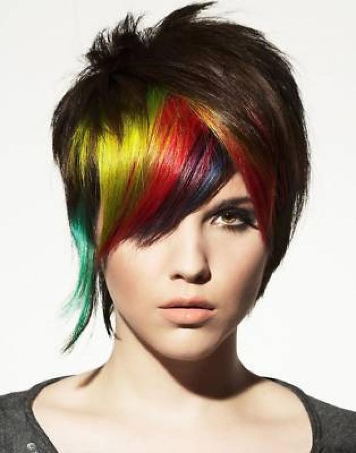 paul mitchell rainbow hair styling color paul mitchel