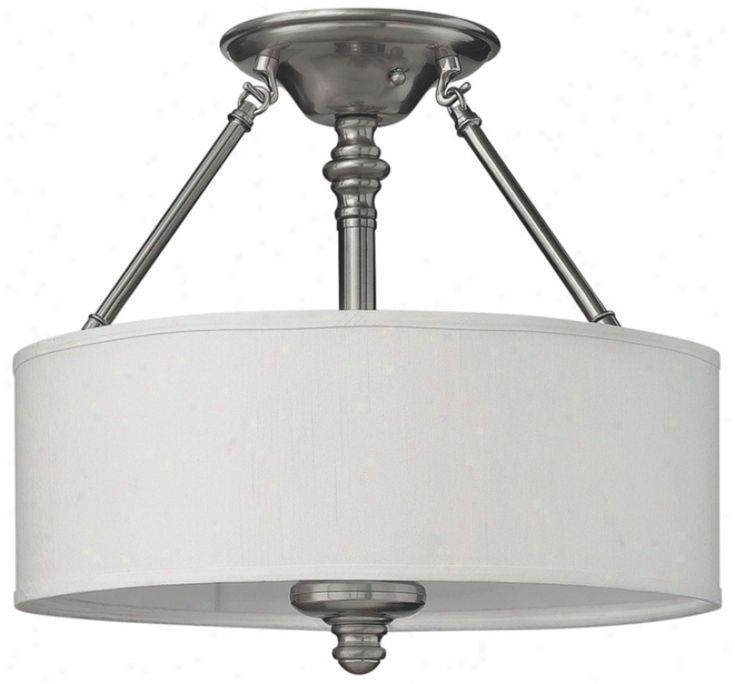 drum shade ceiling light white | For my house | Pinterest