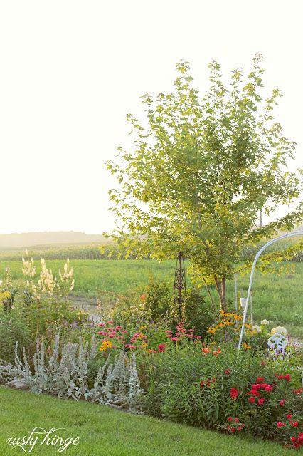 A Glimpse Into the Garden; gorgeous garden tour