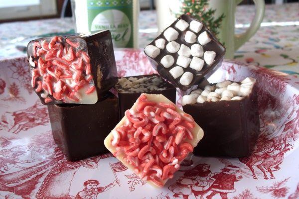 hot chocolate cubes recipe