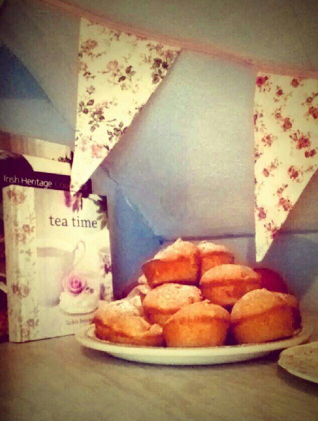 Apple & cinnamon tea cakes | Recipes | Pinterest