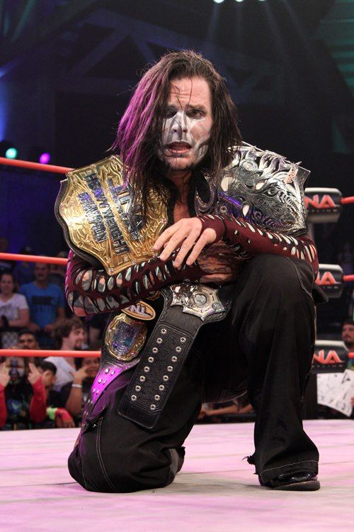 tna heavy weight champion jeff hardy   wrestlers   Pinterest