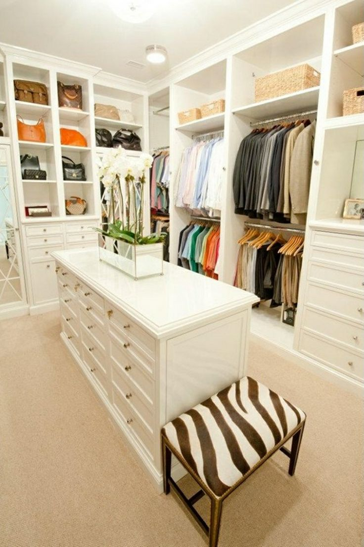 Walk In Closet My Dream Home Pinterest
