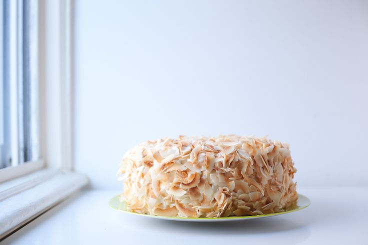 Coconut Southern Comfort Layer Cake | Food photography | Pinterest