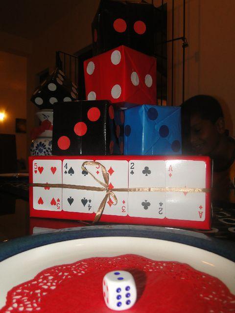 Casino birthday party theme
