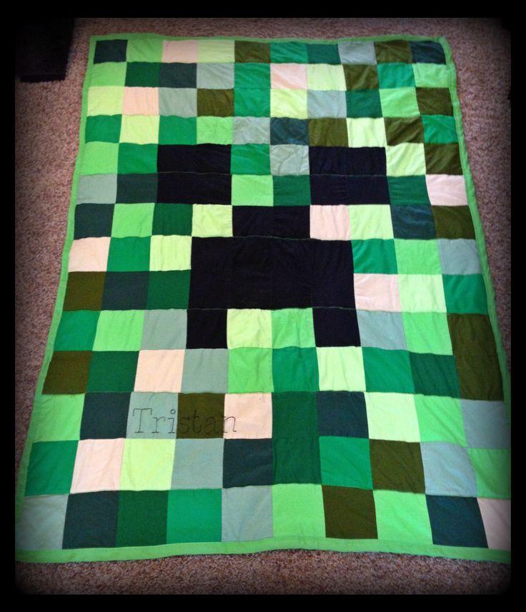 Gallery For > Minecraft Blanket