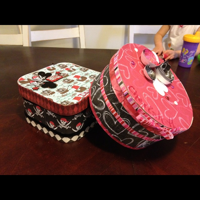 valentine's day mailbox craft preschool