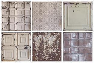 vintage whitewashed tiles for a beautiful backsplash
