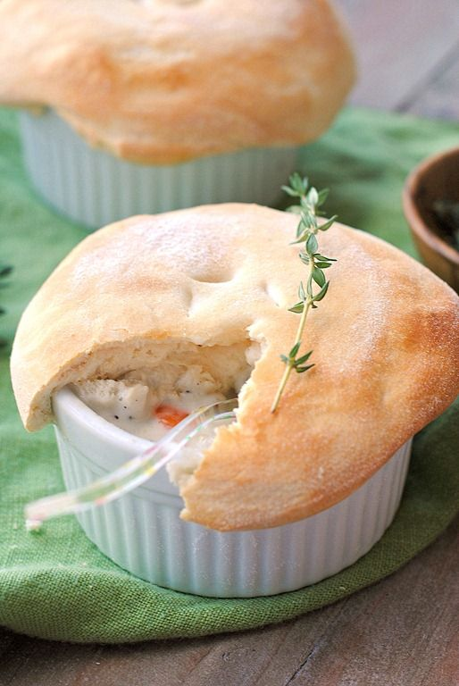 Skinny chicken pot pie | My Favorite comfort foods | Pinterest