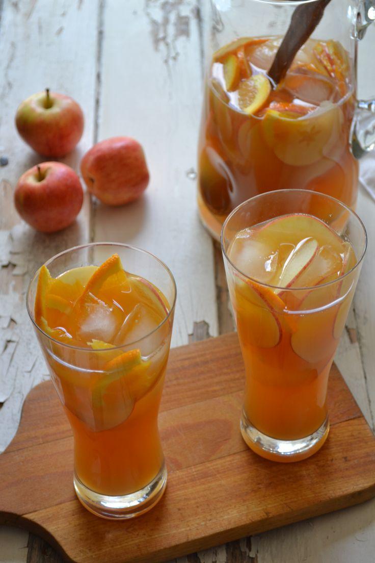 Hard Cider Sangria - Sarcastic Cooking | In Good Spirits! | Pinterest