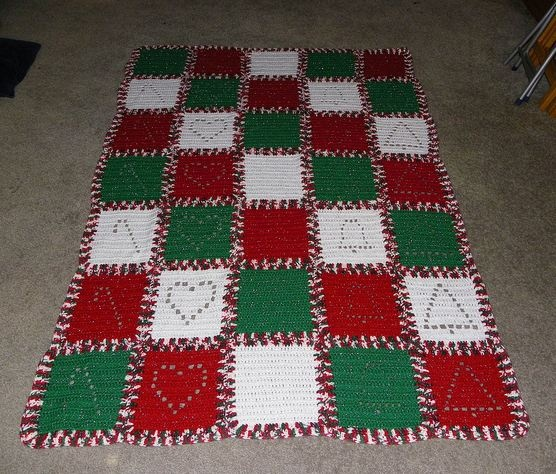 Candy cane square afghan the link will take you to a site where