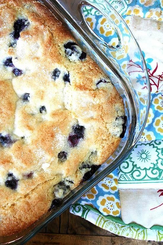 Buttermilk-blueberry breakfast cake | Yummy Food | Pinterest