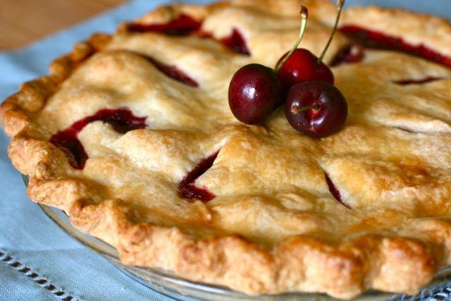 Sweet Cherry Pie by annieseats, via Flickr #dessert #pie #recipe