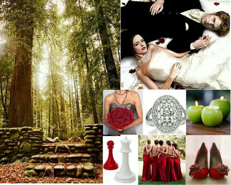 Twilight Themed Wedding