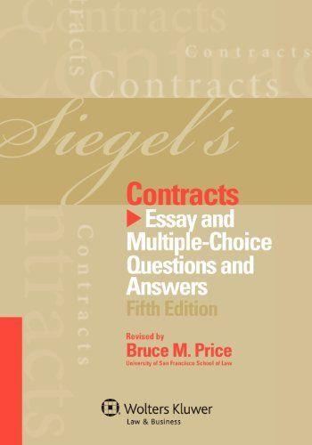 answer choice corporation essay multiple question siegels